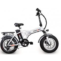 "Fat-Bike 16"" 350W little vulcano pieghevole Bicicletta elettrica pedalata assistita"