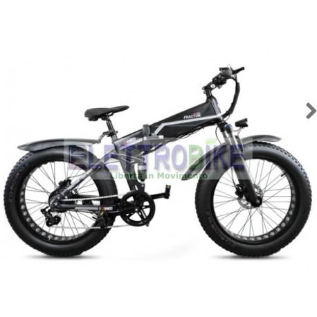 VULCANO V3.1 500W FAT BIKE pieghevole Bicicletta elettrica pedalata assistita