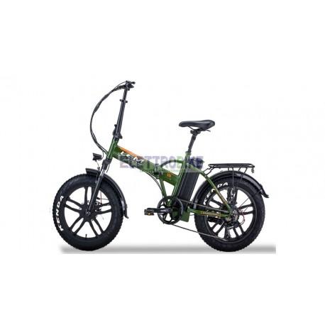"Fat-Bike 20"" 250W pieghevole Bicicletta elettrica pedalata assistita Luxury"