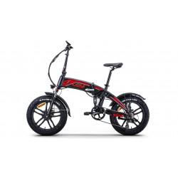 """Fat-Bike 20"""" 250W pieghevole Bicicletta elettrica pedalata assistita DALLAS LUXURY"""