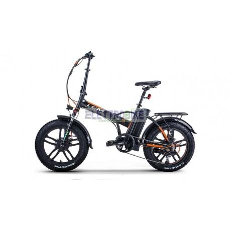 """Fat-Bike 20"""" 250W pieghevole Bicicletta elettrica pedalata assistita ORLANDO Confort"""