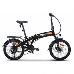 "E-Bike 20"" 250W pieghevole Bicicletta elettrica pedalata assistita macrom"