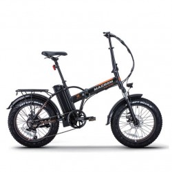 "FAT Bike 20"" 250W pieghevole Bicicletta elettrica pedalata assistita macrom"